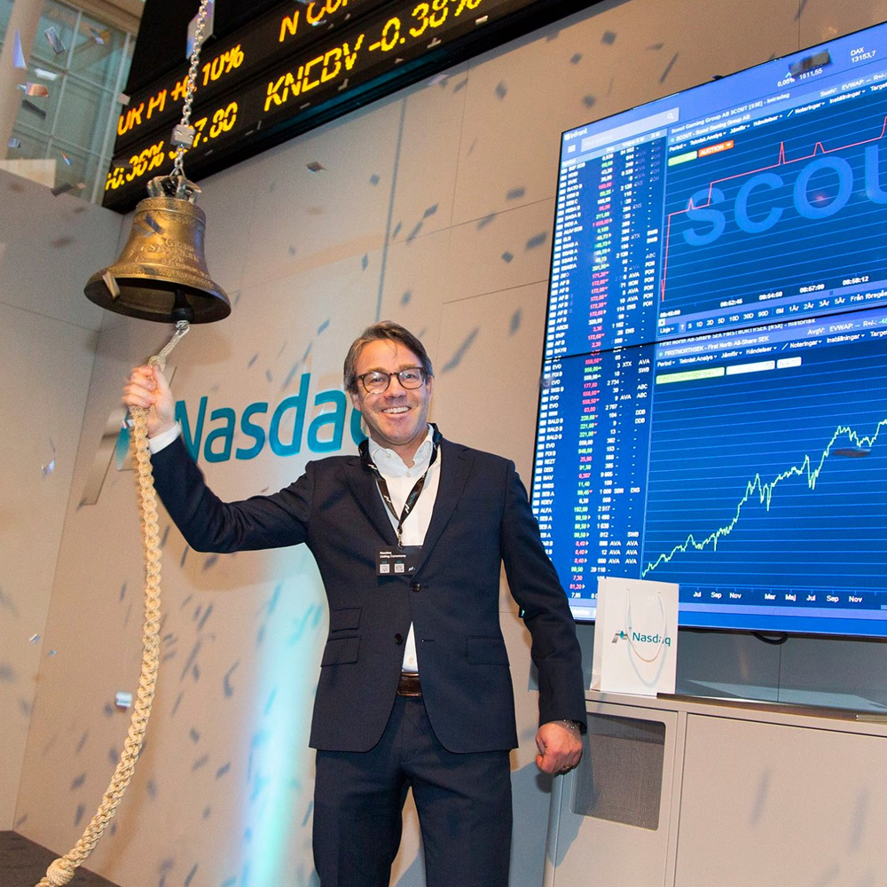 Scout Gaming Group listed at Nasdaq First North