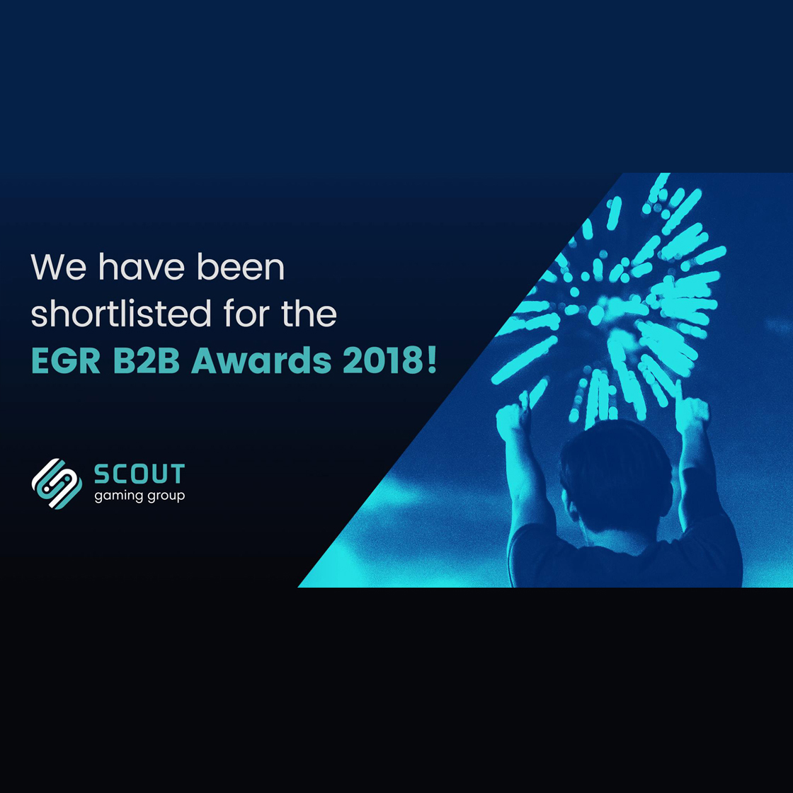 Scout GG have been shortlisted for the EGR B2B Awards
