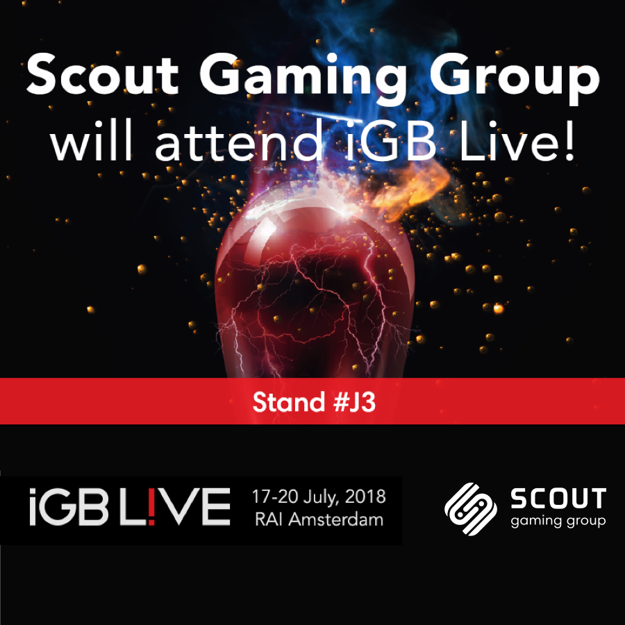 Scout GG attends the IGB Live conference in Amsterdam