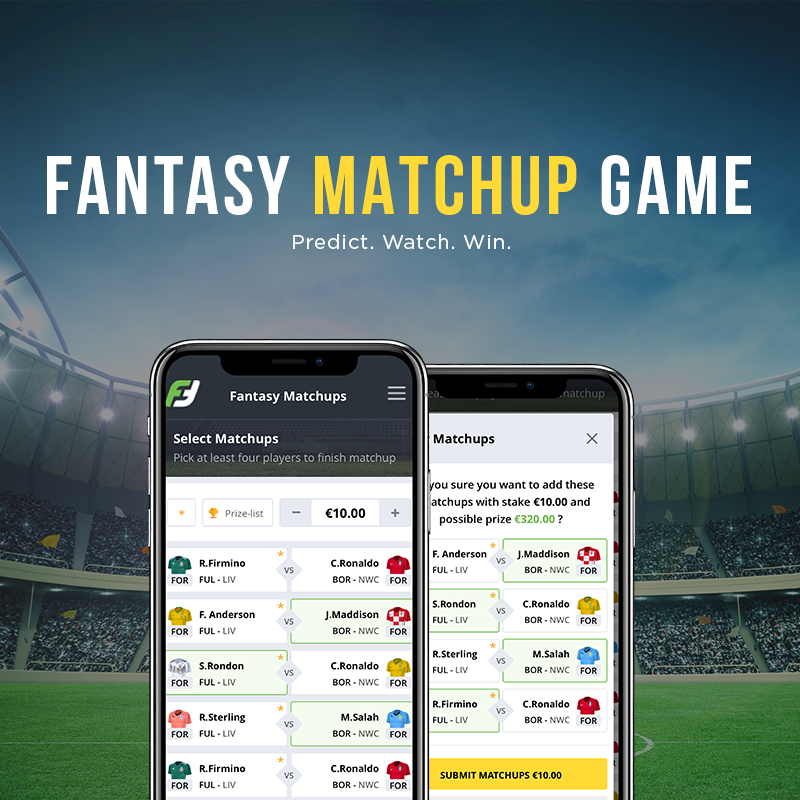 New game release: Fantasy Matchup!