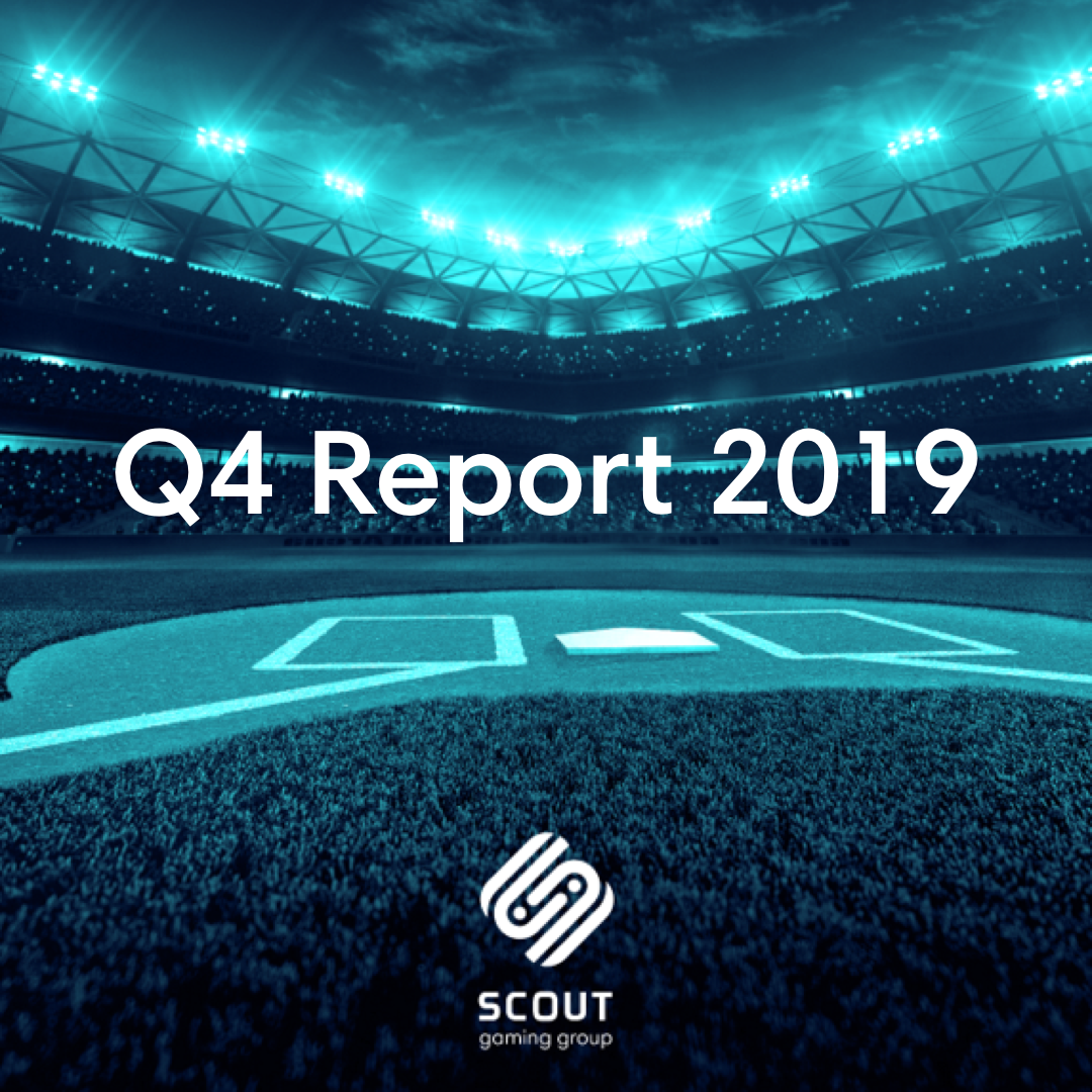 Scout Gaming publishes Q4 2019: revenues increased 117% to MSek 10.0